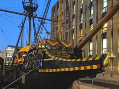 Golden Hind in London
