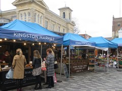 Kingston Market in London
