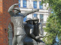 National Firefighters Memorial in London